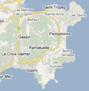 ZEIT Anzeige Ferienhäuser in Gigaro auf der Halbinsel von Saint Tropez