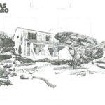 Zeichnung Mas de Gigaro Haustyp Ibiza