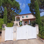 Gigaro Villa Anis Hauseinfahrt