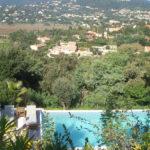 La Croix Valmer Villa Corniche Blick nach La Croix